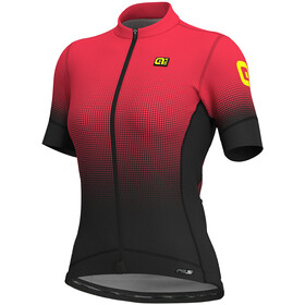 Alé Cycling PRS Dots SS Jersey Women black-gerbera